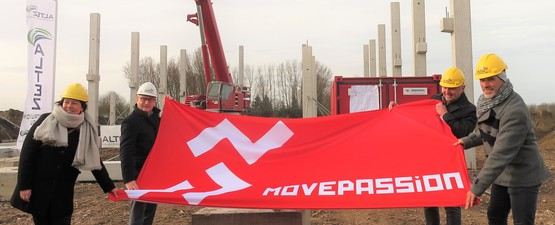 Eerste steen in Sportpark De Schans: MovePassion